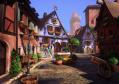 unity3d游戏美术U3d场景模型带环境资源小镇城镇场景Village Environment Pack